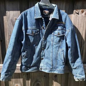 VTG Fly Outerwear Flannel Lined Trucker Jacket